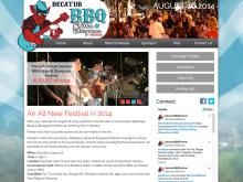 Decatur BBQ, Blues & Bluegrass Festival